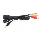 Fat Shark kabel RCA - 4P Jack samice 1.2m