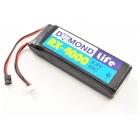 Baterie přijímače LiFe 4000mAh 6.6V 20C