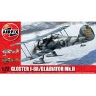 Classic Kit letadlo Gloster Gladiator MkII 1:72