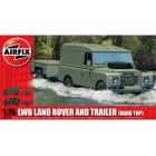 Airfix military LWB Land Rover Hard Top and Trailer (1:76)