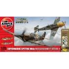 Airfix Supermarine Spitfire Mk1a, Messerschmitt BF109E-4 (1:72)