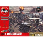 Airfix diorama D-Day Sea Assault (1:72)