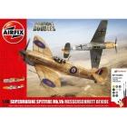 Airfix Supermarine Spitfire MkVb, Messerschmitt BF109E (1:48)