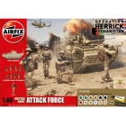 Airfix British Army Attack Force (1:48)