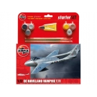 Airfix De Havilland Vampire T11 (1:72) (set)