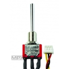 75750 2-pol přepínač krátky ZAP/VYP (Micro)