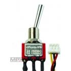 75753 3-pol přepínač dlouhý ZAP/VYP/ZAP (Micro)