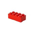 LEGO box na svačinu 100x200x75mm - červený