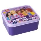 LEGO Friends box na svačinu 160x141x66mm - levandulový