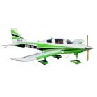 Columbia 400 scale 38% (3 810 mm) 100cc (zeleno/bílá)