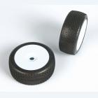 CUBEZ (medium směs) Off-Road 1:8 Buggy gumy nalep. na bílých disk. (2ks.)