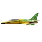 Dolphin Jet (2 000 mm) TR pro 8-12kg turbínu (zeleno/žlutá)