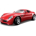 Bburago Alfa Romeo 8C Competizione 2007 1:18 červená