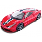 Bburago Ferrari 458 Speciale 1:18 červená