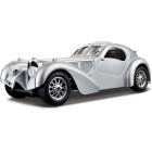Bburago Bugatti 1:24 stříbrná