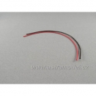 Smršťovací bužírka 1.5mm červená / černá (1+1m)
