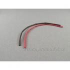 Smršťovací bužírka 3.0mm červená / černá (1+1m)