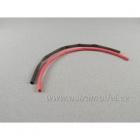 Smršťovací bužírka 4.0mm červená / černá (1+1m)