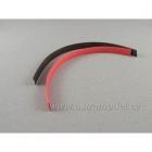 Smršťovací bužírka 10.0mm červená / černá (1+1m)