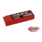 Corally LiPol Sport Racing 6000mAh 7.4V 45C dual gold 4mm