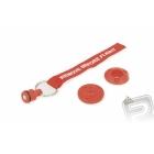 Zátka na odvzdušňovací hadičku (červená)