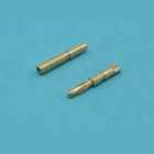 Konektor 2 mm zlacený se zápichem