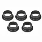 Těsnící kroužky pro motory .21 & .28 černé (5 ks.)