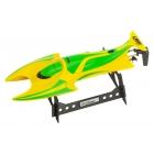 LRP Deep Blue 330 Hydro 2,4 High-Speed Racing loď RTR žluto/zelená