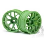 Disky 26mm zelené (6 mm offset, 2 ks)