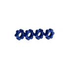 X-Maxx: Náboje kol hliníkové modré s klipy (2)