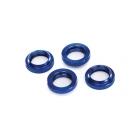 Tlumič GTX: Stavěcí matice pružiny hliníková modrá