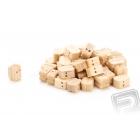Kladka dvojitá dřevěná 5mm (50 ks)