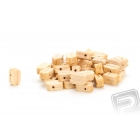 Kladka jednoduchá dřevěná 7mm (50 ks)