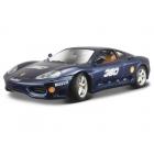 Bburago Ferrari 360 Challenge 1:24 modrá metalíza