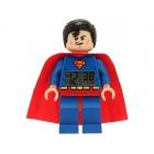 LEGO DC Super Heroes hodiny sbudíkem Superman