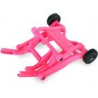Traxxas sada opěrných koleček (wheelie) růžová