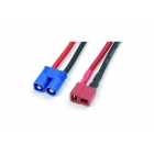 Konverzní kabel EC3 M -> Deans M (14AWG)