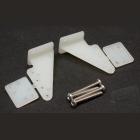 Páka kormidla plastová velká (29mm) 2ks