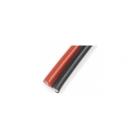Kabel silikonový 0.35mm2 22AWG červený+černý (1+1)