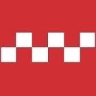 Monokote TRIM šachovnice 12,7x91,44cm červeno-čirá