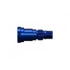 X-Maxx 8S: Hliníková hřídel kola modrá (1)