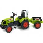 FALK - Šlapací traktor Claas Arion 430 s vlečkou