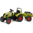FALK - Šlapací traktor Claas Arion 540 s vlečkou