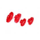 4-TEC 2.0: Brzdové třmeny červené (sada)