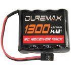 DUREMAX akumulátor NiMH 4.8V 1300mAh RX plochý