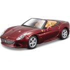 Bburago 1:43 Sign. Ferrari California T (open) metalická vínová