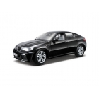 Bburago BMW X6 M 1:18 černá metalíza