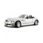 Bburago BMW M Roadster 1:24 stříbrná