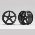Racing Performer Driftovací disky 5 paprsků 01 (6mm Offset/Černé/2ks)