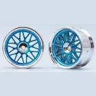 10-paprskové disky (Modré)